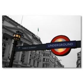 Αφίσα (μαύρο, λευκό, άσπρο, Λονδίνο, πόλη)
